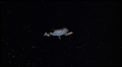 корабль Хищника подлетает к Земле